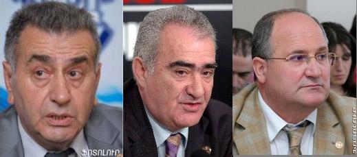 Ռ. Պետրոսյան, Գ. Սահակյան, Ս. Նիկոյան